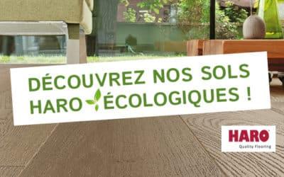 Découvrez nos sols Haro écologiques !