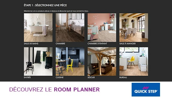 Room planner Quick Step