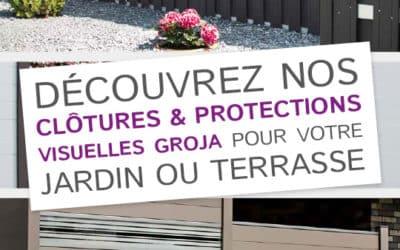 Découvrez nos clôtures et protections visuelles GROJA